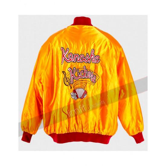 Kenosha Kickers Yellow Bomber Jacket