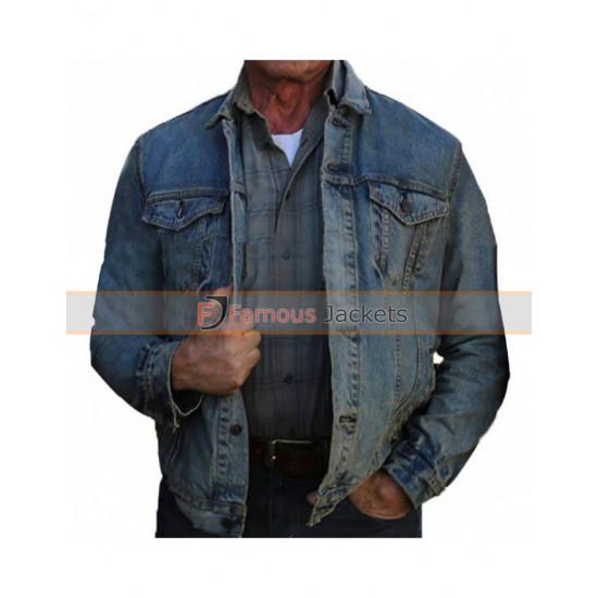Sylvester Stallone Rambo Last Blood Denim Jacket