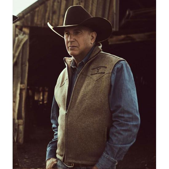 kevin Costner Yellowstone Season 02 Vest