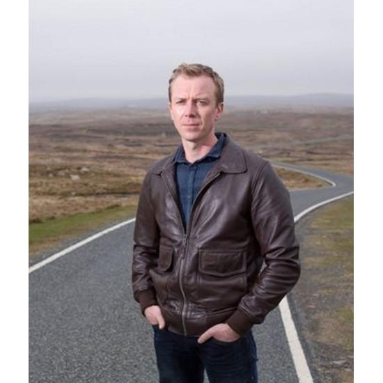 Shetland DC Sandy Wilson Genuine Leather Jacket