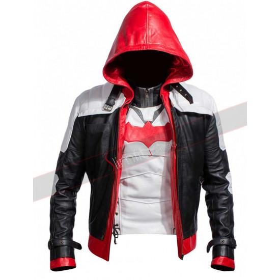 Batman Arkham Knight Game Red Hood Jacket Vest
