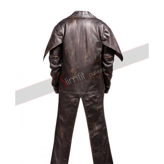 Star Wars Clone Wars Cad Bane Leather Costume