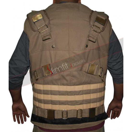 Furious 7 Dwayne Johnson (Luke Hobbs) Vest
