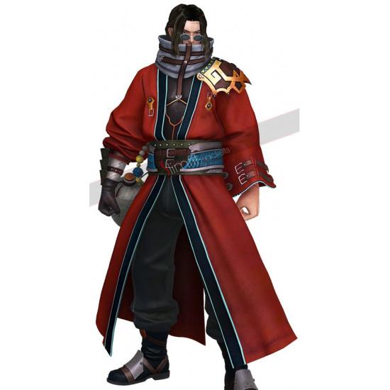 Final Fantasy X Auron Cosplay Costume