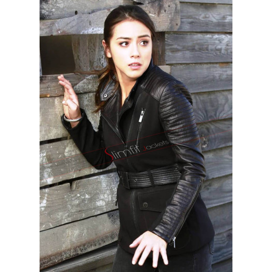 Agents of Shield Chloe Bennet Black Jacket