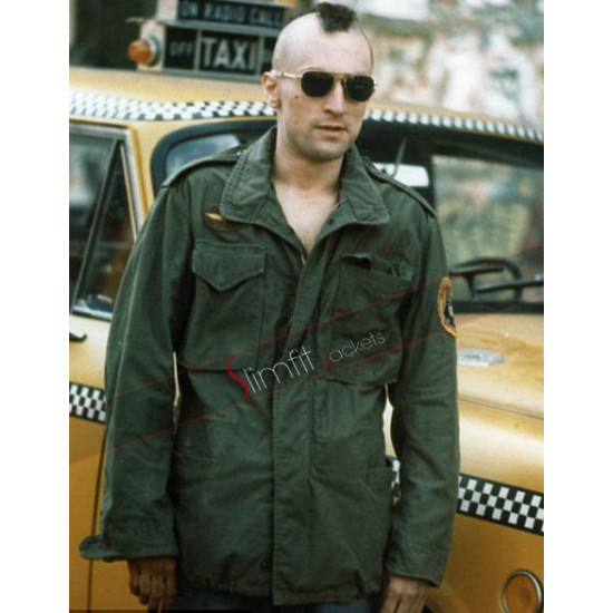 Taxi Driver Robert De Niro (Travis Bickle) Jacket