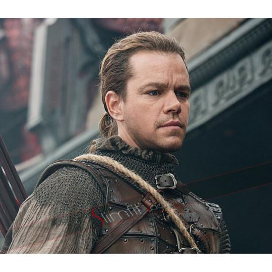 The Great Wall Matt Damon Leather Costume
