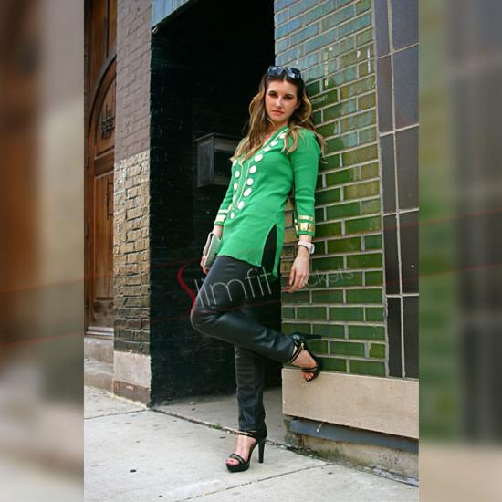 Alexander Mcqueen Dark Green Women Pants