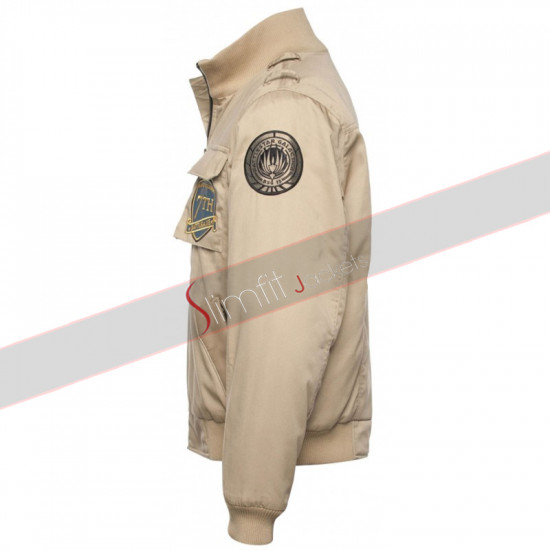 Battlestar Galactica Apollo Raptor Bomber Jacket  For Men