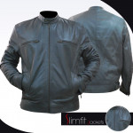 Dean Ambrose WWE Grey Leather Jacket