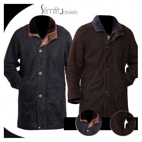 Walt Longmire Sheriff (Robert Taylor) Trench Coat Jacket
