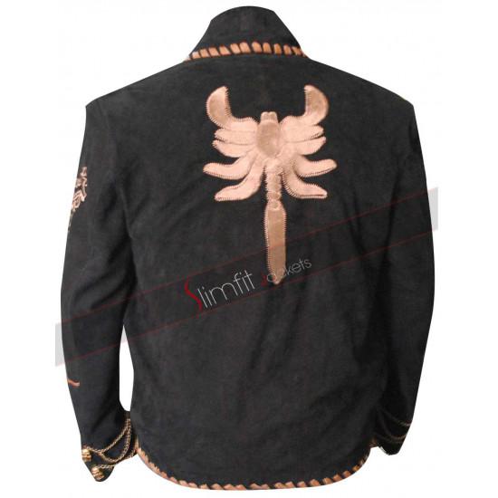 Once Upon A Time Mexico Antonio Banderas (El Mariachi) Scorpion Jacket
