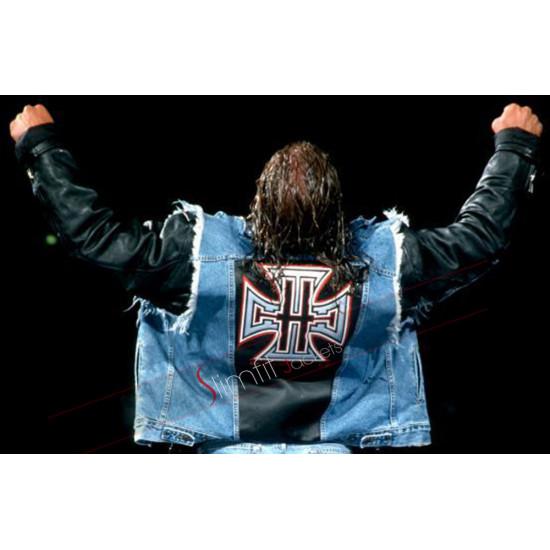 Triple H WWE Blue Vest