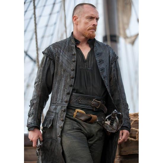 Toby Stephens Black Sails S3 Pirates Captain Flint Coat
