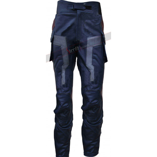 Captain America The Winter Soldier Leather Pant