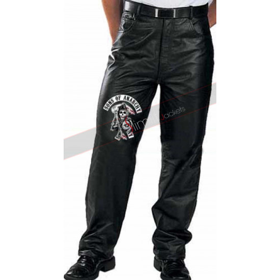 Sons Of Jax Anarchy Teller Leather Pants
