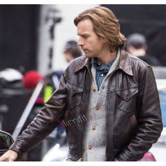 Ewan McGregor Our Kind of Traitor Brown Jacket