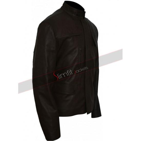 Deadpool 2016 Ed Skrein (Ajax) Leather Jacket