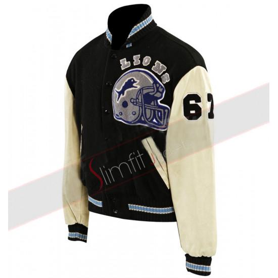 Beverly Hills Cop Eddie Murphy Baseball Letterman Jacket
