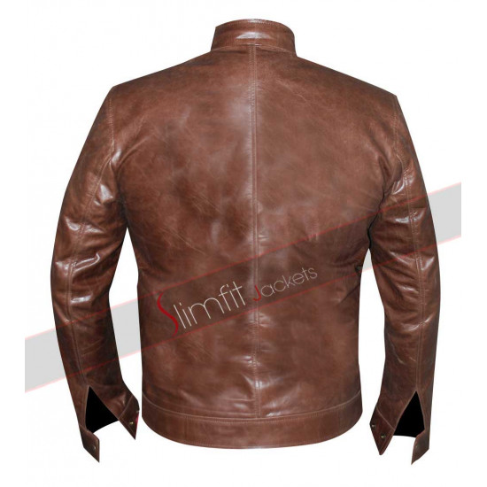 Agents of SHIELD S3 Brett Dalton (Grant Ward) Brown Jacket