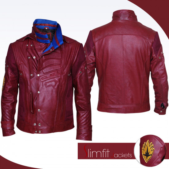 Peter Quill Guardians of the Galaxy 2 Starlord Jacket Costume