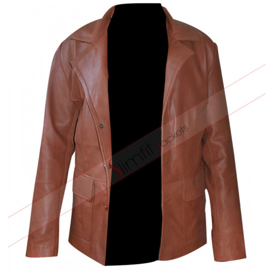 Donnie Brasco Johnny Depp Vintage Leather Jacket / Coat