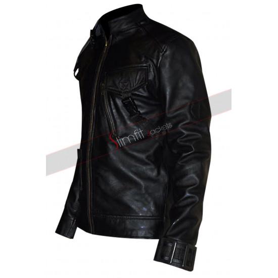 Aaron Ashmore Killjoys John Jaqobis Black Jacket