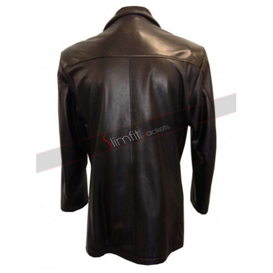Se7en Brad Pitt (David Mills) Black Jacket Coat