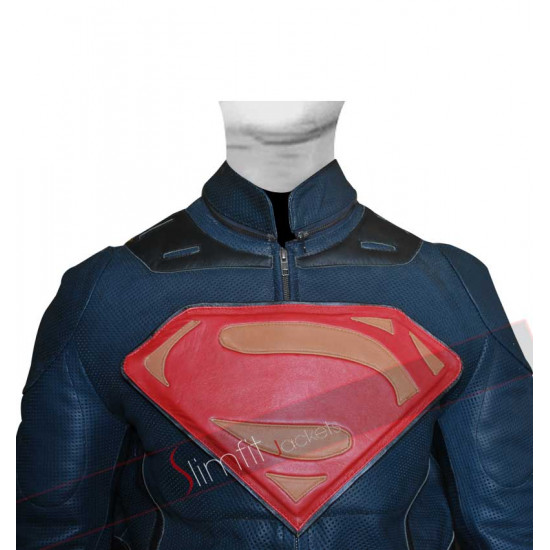 Replica Man of Steel Superman Cosplay Costume