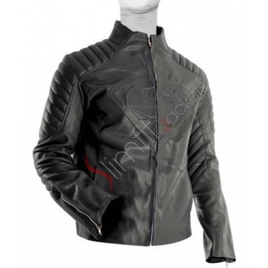 Superman Smallville Black Jacket Sale