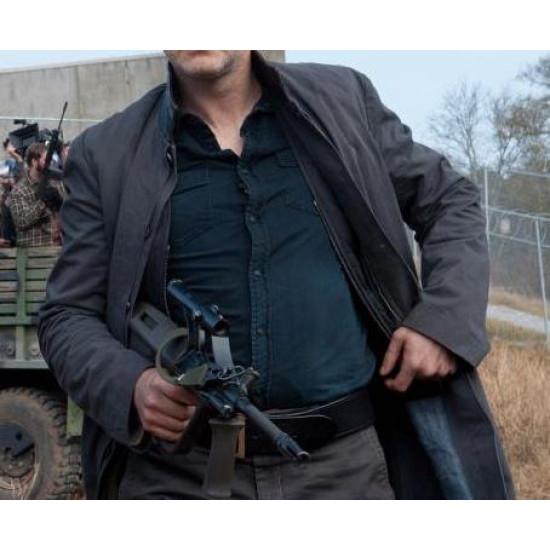 Governor Walking Dead S5 David Morrissey Trench Coat