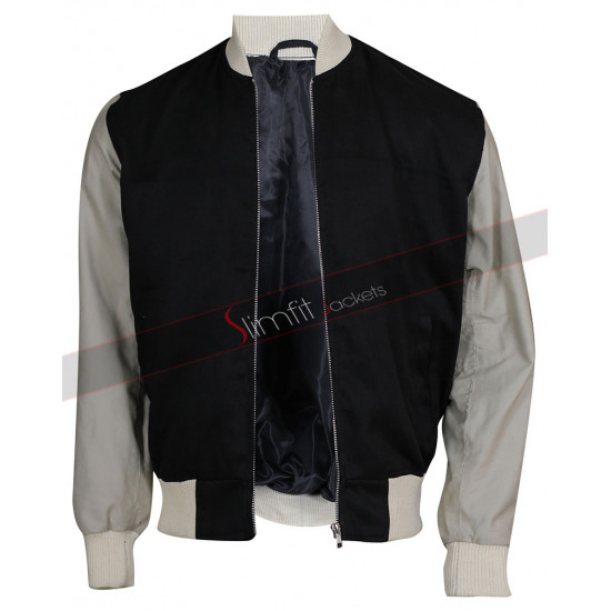 Baby Driver Ansel Elgort Varsity Jacket