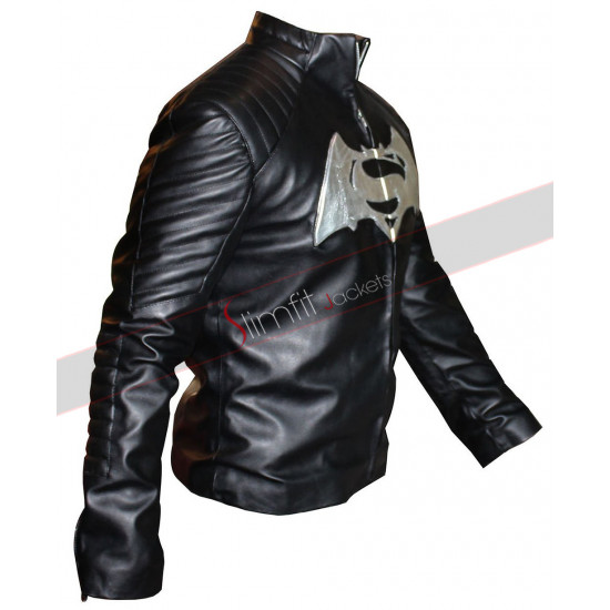 Dawn of Justice Batman V Superman White Logo Jacket