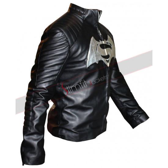 Dawn of Justice Batman V Superman White Logo Jacket