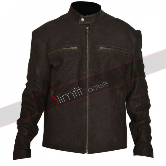 Civil War Steve Rogers (Captain America) Brown Jacket