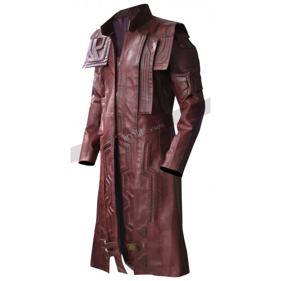 Star Lord Guardians of the Galaxy 2 Peter Quill Coat Costume