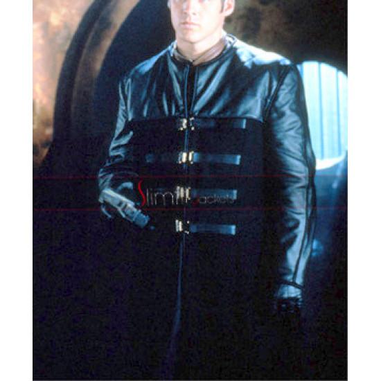 Replica Farscape Peacekeeper John Crichton Trench Costume Jacket