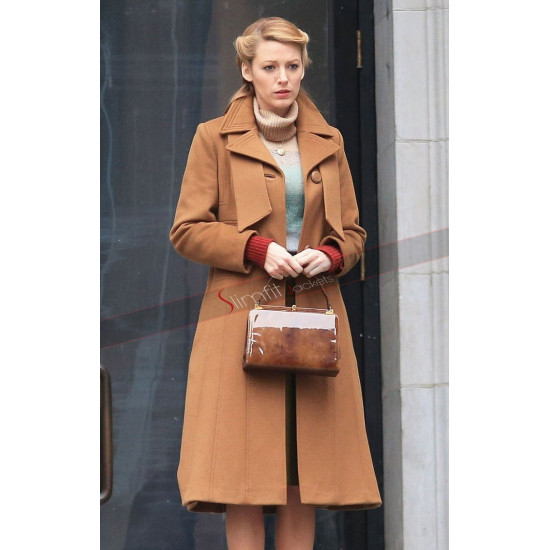 Blake Lively Age of Adaline Trench Coat