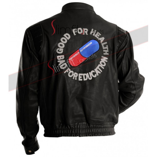 Akira Kaneda Pill Motorcycle Leather Jacket
