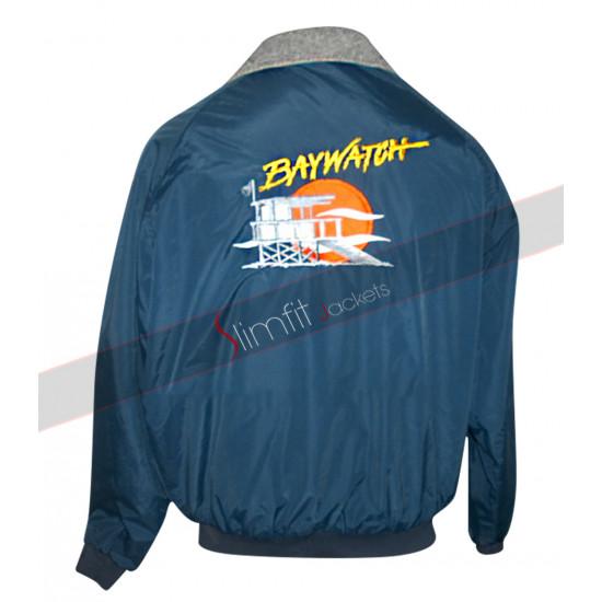 Baywatch Bomber Lifeguard David Hasselhoff Jacket