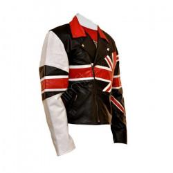 British (Union Jack) Flag Leather Jacket