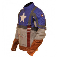 Captain America First Avenger Chris Evans Jacket Costume