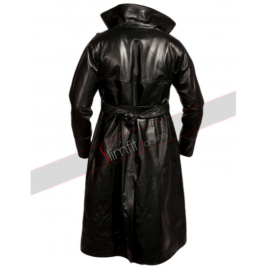 Crow Brandon Lee (Eric Draven) Black Trench Jacket