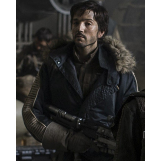 Captain Cassian Andor Star Wars Rogue One Parka Jacket