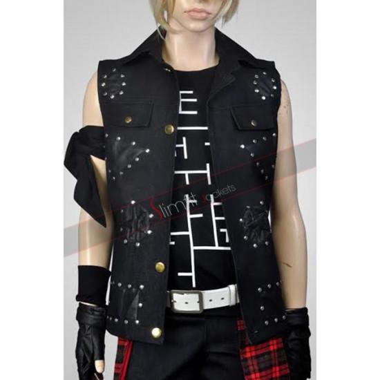 Prompto Argentum Final Fantasy XV Leather Vest