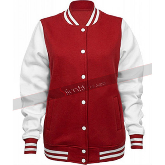 Harley Quinn Property of Joker Varsity Bomber Jacket