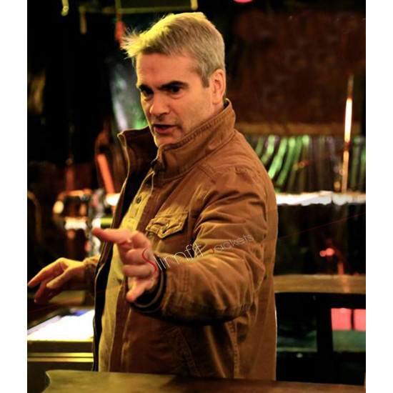 He Never Died Henry Rollins Brown Jacket