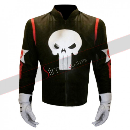 Captain America Civil War Punisher Jacket Costume