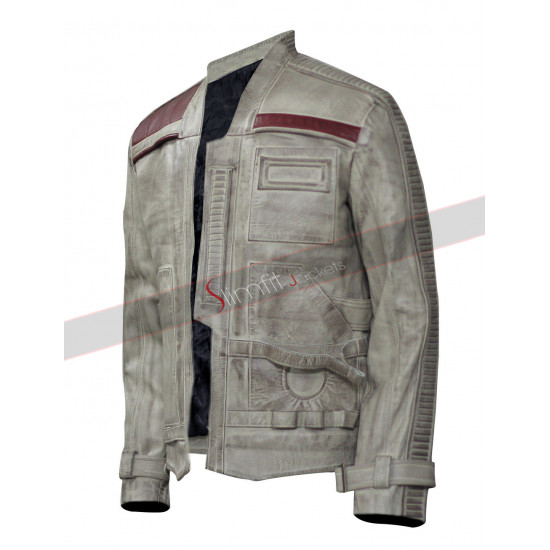 Star Wars Force Awakens Finn Distressed Jacket