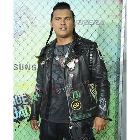Suicide Squad Adam Beach Leather Jacket